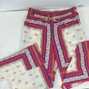 Sanctuary Wide leg printed pants - M